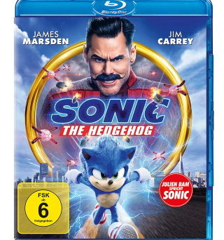 "Das Blu-ray-Cover von ""Sonic the Hedgehog"""