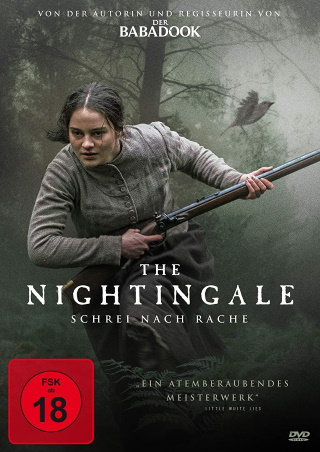 "Das DVD-Cover von ""The Nightingale - Schrei nach Rache"" (© 2020 Koch Films)"