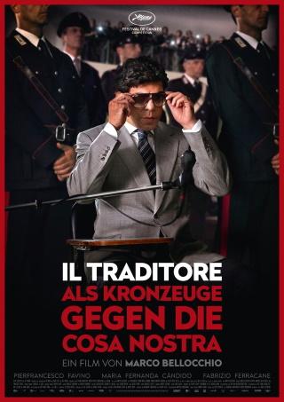 "Das Hauptplakat von ""Il Traditore"" (© Pandora Film)"