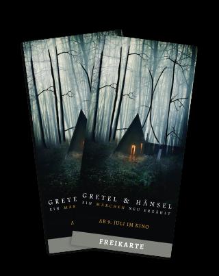 Gewinnspiel Gretel & Hänsel Freikarten © Capelight Pictures
