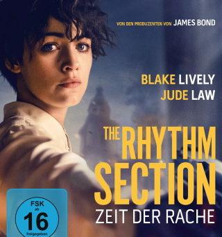 """Das Blu-ray-Cover von """"The Rhythm Section – Zeit der Rache"""" (© 2020 Leonine Distribution)"""