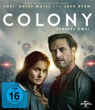 "Das Blu-ray-Cover von ""Colony Staffel 2"" (© Pandastorm Pictures)"