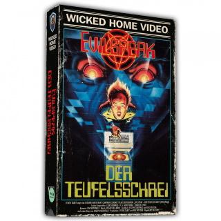 """Das Artwork der VHS-Retro-Edition von """"Evilspeak -Der Teufelsschrei"""" (© Wicked-Vision-Media)"""