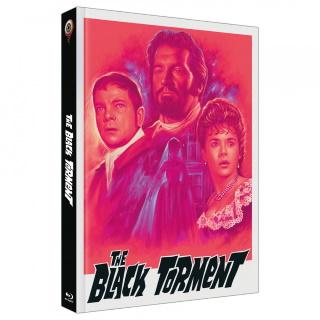 """Das Artwork Cover B zu """"Das Grauen auf Black Torment"""" (© Wicked-Vision)"""
