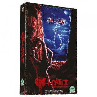 """Das Artwork der VHS-Retro-Edition von dem """"Gate""""-Doppel-Feature (© Wicked-Vision Media)"""