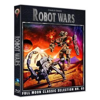 """Das Blu-ray-Cover von """"Robot Wars"""" (© Wicked-Vision Media)"""