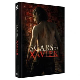 "Das Mediabook-Artwork Cover A von ""Scars of Xavier"" (© 2020 Wicked-Vision)"