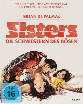 """Das Mediabook-Artwork von """"Sisters - Die Schwestern des Bösen"""" (© Koch Films)"""