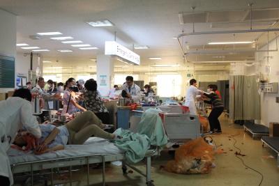Die Krankenhäuser platzen aus allen Nähten (© Busch Media Group)