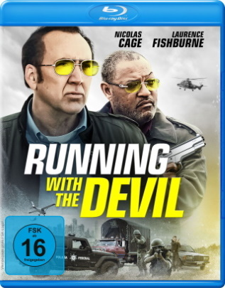 "Das Blu-ray-Cover von ""Running with the Devil"" (© Koch Films)"