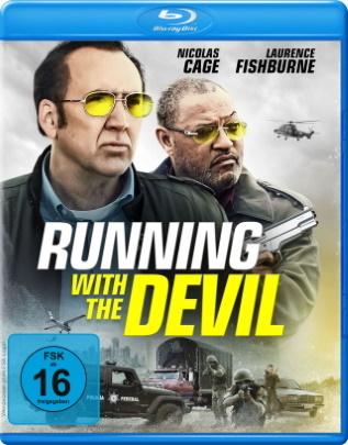 "Das Blu-ray-Cover von ""Running with the Devil"" (© Koch Films)"