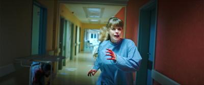 Aus diesem Krankenhaus sollte man sich möglichst schnell auschecken lassen. (© Busch Media Group)