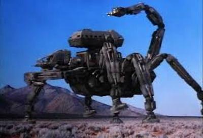 Dieser Roboter ist der Touri-Bus der Zukunft (© 1993 Full Moon Feature)