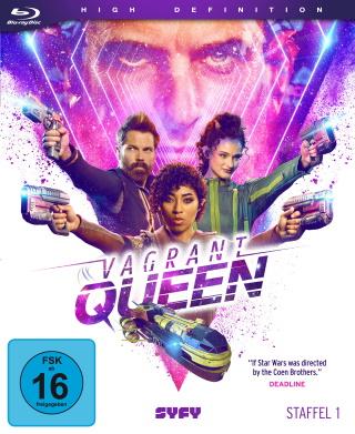 "Das Blu-ray-Cover von ""Vagrant Queen Staffel 1"" (© Eye See Movies)"