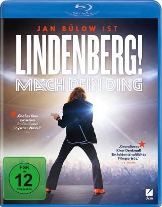 """Das Blu-ray-Cover von """"Lindenberg! Mach dein Ding"""" (© DCM)"""