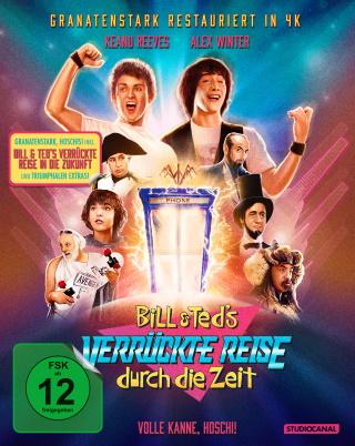 """Das Blu-ray-Cover von """"Bill und Teds verrückte Reise durch die Zeit"""" (© StudioCanal)"""