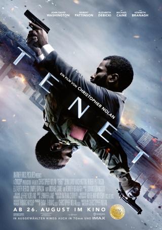 """Das Hauptplakat von """"Tenet"""" (© 2020 Warner Bros. Entertainment Inc. All Rights Reserved.)"""