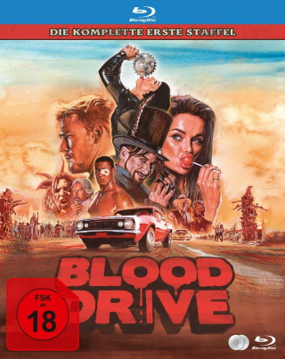"Das Blu-ray-Cover von ""Blood Drive"" (© Justbridge Entertainment)"