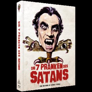 """Das Mediabook Cover A von """"Die 7 Pranken des Satan"""" (© Wicked-Vision)"""