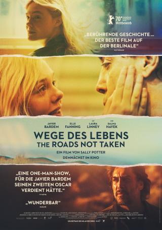 """Das Hauptplakat von """"Wege des Lebens – The Roads Not Taken"""" (© 2020 Universal Pictures)"""