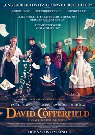 """Das Hauptplakat von """"David Copperfield"""" (© 2020 eOne Germany)"""