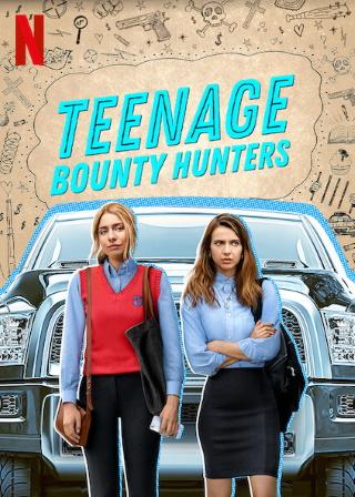 """Das Artwork von """"Teenage Bounty Hunters"""" (© 2020 Courtesy of Netflix)"""