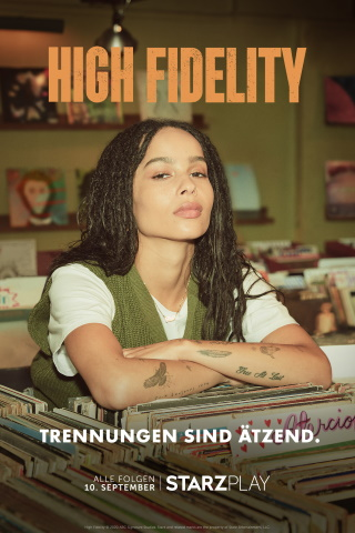 "Das Artwork zu ""High Fidelity"" (© Starzplay)"