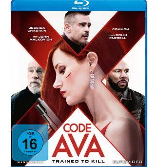 """Das Blu-ray-Cover von """"Code Ava- Trained to Kill"""" (© EuroVideo)"""