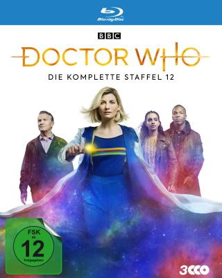 "Das Blu-ray-Cover von ""Doctor Who Staffel 12"" (© Polyband)"