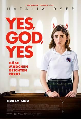"Das Hauptplakat von ""Yes, God, Yes"" (© Capelight Pictures)"