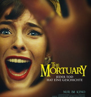 """Das Hauptplakat von """"The Mortuary – Jeder Tod hat eine Geschichte"""" (© Capelight Pictures)"""