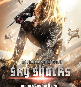 """Das """"Sky Sharks""""-Character Post mit Michaela Schaffrath (© 2020 Fusebox Films GmbH. All rights reserved.)"""