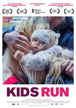 """Das Hauptplakat von """"Kids Run"""" (© 2020 Farbfilm)"""