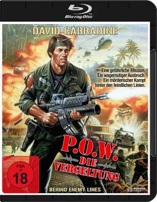 """Das Blu-ray-Cover von """"P.O.W. - Die Vergeltung"""" (© Koch Films)"""