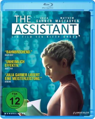 """Das Blu-ray-Cover von """"The Assistant"""" (© Ascot Elite)"""