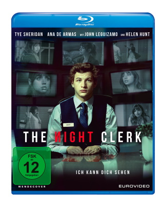 "Das Blu-ray-Cover von ""The Night Clerk"" (© EuroVideo)"