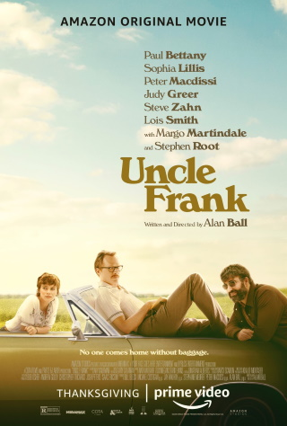 "Das US-Plakat von ""Uncle Frank"" (© 2020 Amazon Studios)"