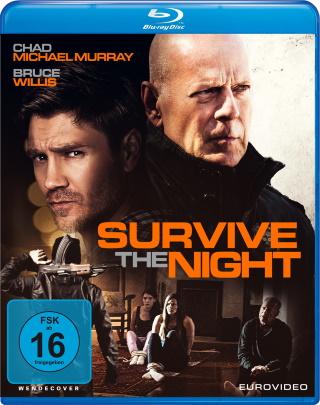 """Das Blu-ray-Cover von """"Survive the Night"""" (© 2020 EuroVideo)"""