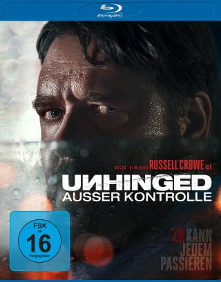 """Das Blu-ray-Cover von """"Unhinged - Ausser Kontrolle"""" (© 2020 Leonine Distribution)"""