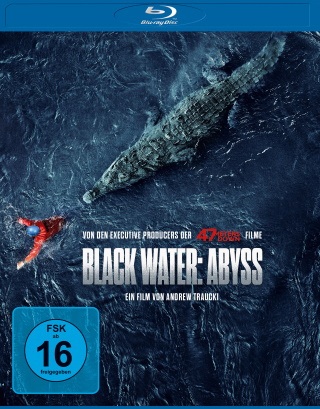 "Das Blu-ray-Cover von ""Black Water Abyss"" (© Leonine DIstribution)"