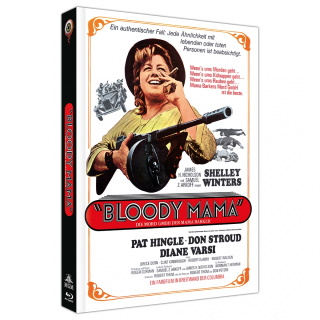 """Das Mediabook Artwork A von """"Bloody Mama"""" (© 2020 Wicked Vision DIstribution GmbH. All Rights Reserved.)"""