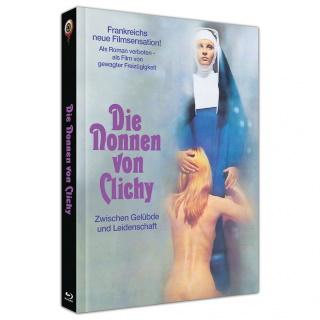"""Das Mediabook Artwork A von """"Die Nonnen von Clichy"""" (© 2020 Wicked Vision Distribution GmbH. All Rights Reserved.)"""