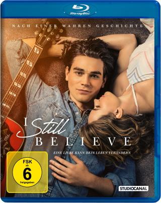 """Das Blu-ray-Cover von """"I Still Believe"""" (© StudioCanal)"""