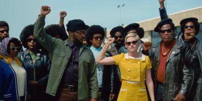 Jean Seberg solidarisiert sich mit der Black-Power-Bewegung (© 2020 Prokino)