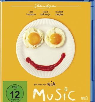 "Das Blu-ray-Cover von ""Music"" (© 2021 Alamode Film)"