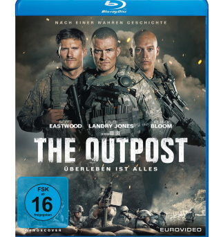 "Das Blu-ray-Cover von ""The Outpost"" (© 2020 EuroVideo)"