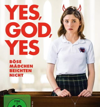 "Das DVD-Cover von ""Yes, God, Yes"" (© Capelight Pictures)"
