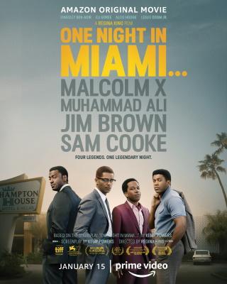 """Das Hauptplakat von """"One Night in Miami"""" (© 2020 Amazon Studios)"""