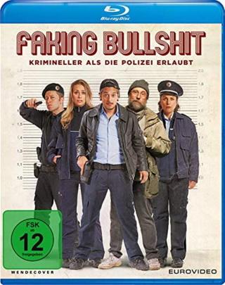 "Das Blu-ray-Cover von ""Faking Bullshit"" (© 2021 EuroVideo)"