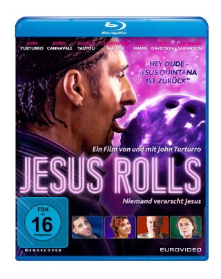 """Das Blu-ray-Cover von """"Jesus Rolls"""" (© EuroVideo)"""
